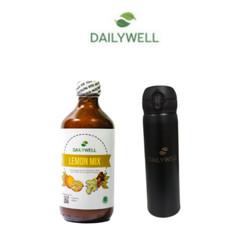 Bundling Dailywell Lemon Mix dan Tumbler Dailywell