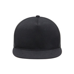 Snapback Topi Hiphop Hitam Polos Custom by Fitted