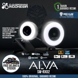 Rexus ALVA SW RX02 FULL HD 2K Webcam Stream Mic Ring Light SW-RX02