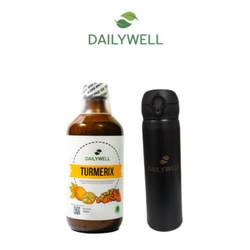 Bundling Dailywell Turmerix dan Tumbler Dailywell