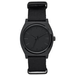 NIXON A0451028 TIME TELLER ALL MATTE BLACK