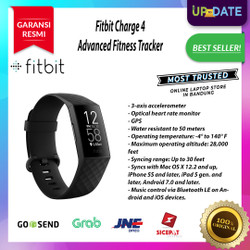 SMARTWATCH FITBIT CHARGE 4 Advanced Fitness Tracker + GPS - Black