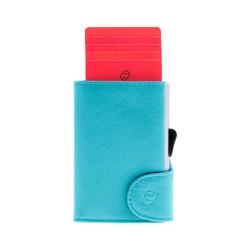 C-Secure Italian Leather RFID Wallet Zaffiro Dompet Kartu Pria