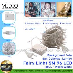 Backgorund Foto dan Dekorasi Lampu Fairy Light 5M dengan 96 lampu LED