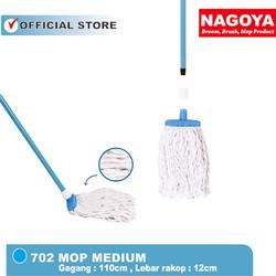 Pel,Mop,Pel Lantai,Pel Sedang,Pengepel,Pel Sumbu Nagoya Medium 12 cm