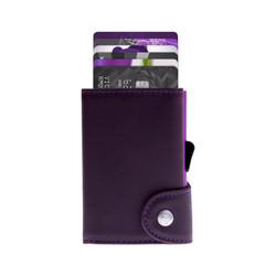 C-Secure Italian Leather RFID Wallet Cardinale Dompet Kartu Pria