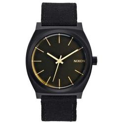 NIXON A0451354 TIME TELLER MATTE BLACK / ORANGE TINT