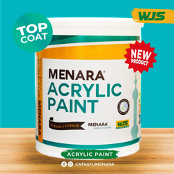 Menara Acrylic Paint - Base Coat White/Black - Putih