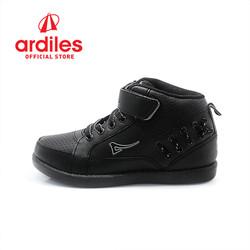 Ardiles Kids Grained T Sepatu Sneakers - Hitam Hitam