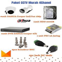Paket Bundling CCTV Murah 4Chanel