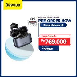 TRUE WIRELESS BLUETOOTH EARPHONE BASEUS S1 PRO ANC MINI EARBUDS TWS