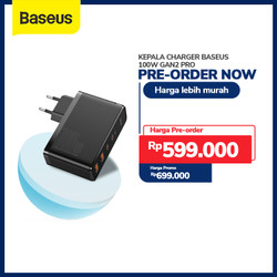 KEPALA CHARGER BASEUS 100W GAN2 PRO FAST CHARGER 4.0 3.0 PD TYPE C