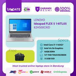 LENOVO IDEAPAD FLEX 5 14ITL05 Core i7-1165G7 16GB 512G SSD W10 OHS2019