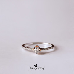 Diamond Ring Rhesa - Ivana Jewellery