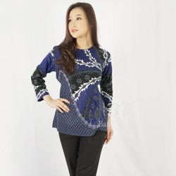 BATIK TRUSMI blouse tunik kerja wanita harga murah berkualitas promo