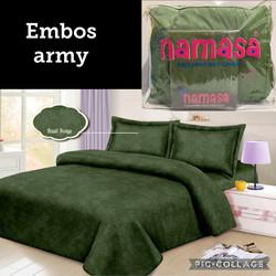 Namasa Bedcover Set + Sprei Ukuran King Size 180X200 Katun Jepang 015