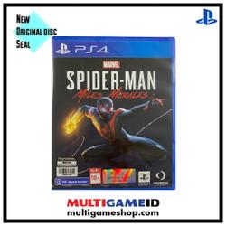 PS4 Spiderman Miles Morales Region 3 English
