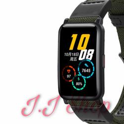 Strap Nylon Nilon Woven Watch Band Honor Watch ES Tali Jam Smartwatch