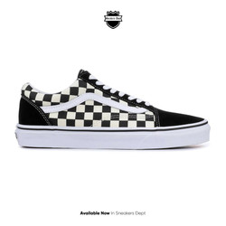 VANS OLD SKOOL BLACK CHECKERBOARD BLACK