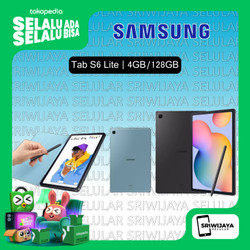 "SAMSUNG GALAXY TAB S6 LITE 4/128 10"" GARANSI RESMI SEIN"