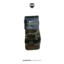 Nike Everyday Max Cushion Crew Cammo Green '3 Pack'