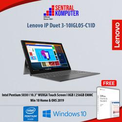 Lenovo IP Duet 3-10IGL05-C1ID|Intel Pentium 5030|8GB|256GB|W10H & OHS