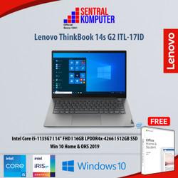 Lenovo ThinkBook 14s G2 ITL-17ID|i5-1135G7|16GB|512GB SSD|W10H & OHS