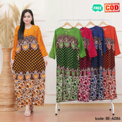 LongDress Wanita LongDress Abha Kode BE-A086