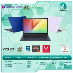 Asus M413DA VIPS751 Ryzen 7 3700 8GB 512ssd Vega10 W10+OHS 14.0FHD IPS