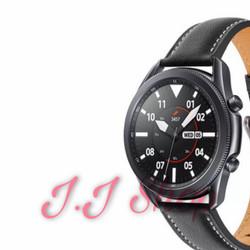 Strap Kulit Leather Model Original Samsung Galaxy Watch 3 45mm Tali Ac