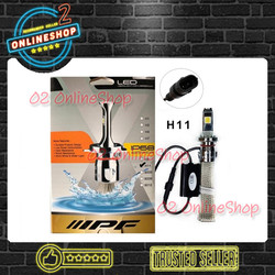 Lampu Mobil LED IPF H11 Headlamp IPF H11 6000K IPF Lampu COB