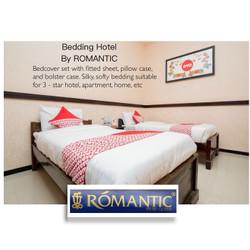 Bedding set I Duvet set by ROMANTIC standard HOTEL OYO GRATIS KONSUL