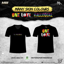 Tshirt MSI - One Love ( No Racism )