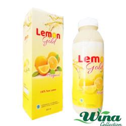 Lemon Gold 500 ml 100% Sari Lemon Asli Original Program Diet