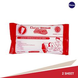 Docare Wash Gloves Standar 2 Sheet Parfume