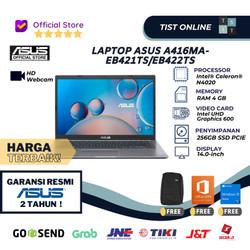LAPTOP ASUS A416MA-EB421TS/EB422TS N4020-4GB-256GB SSD PCIE-WIN 10