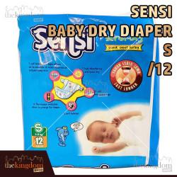 Sensi Baby Dry Diaper Sensi Popok Bayi Cepat Kering
