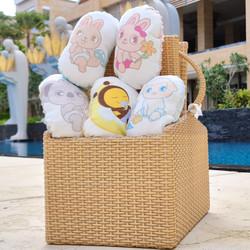 Babybee Happy Squeezy Boneka Toys Hypoallergenic utk Kesehatan