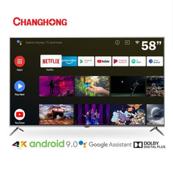 LED TV CHANGHONG 58H7 58 Inch LED 4K UHD Android 9.0 Smart TV/58H7A