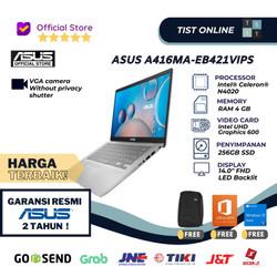 Asus A416MA-EB421VIPS N4020 4GB 256GB SSD FHD IPS WIN10 OHS SILVER