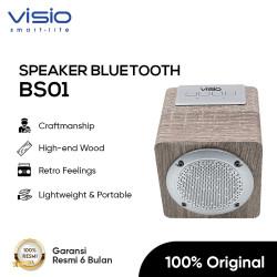 Visio BS01 Wireless Portable Speaker Super Bass Bluetooth Music