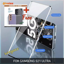 s21 ultra tempered glass full cover curve Samsung s21 ultra