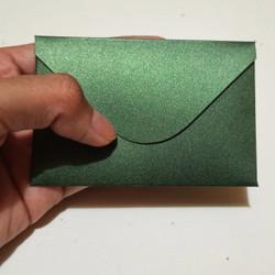 Amplop Mini Hijau Green Amplop Uang Amplop Lucu isi 20pcs 9cm x 6cm