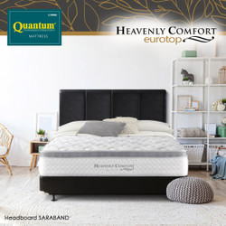 Quantum Springbed Heavenly Comfort Eurotop White