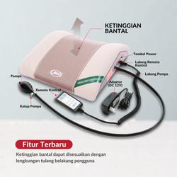 Terapi Nyeri Pinggang Saraf Kejepit Jaco Lumbar Pillow 100% Original