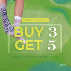 SINAU SOCKS Bundling 5 Pcs