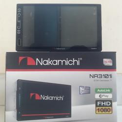 Nakamichi NA3101i Deckless Tape bluetooth Autolink Mp5 Tv tuner