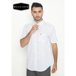Jack Nicklaus Fortcanning Kemeja Premium Pria Slim Fit Putih