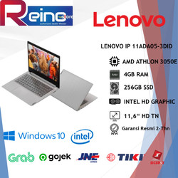 "LENOVO IP1 11ADA05 3DID ATHLON 3050E 4GB 256GB SSD 11,6"" HD TN WIN10"