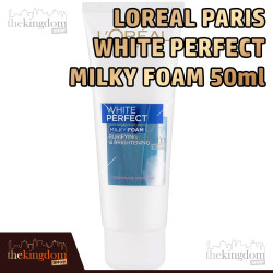 L'Oreal Paris White Perfect Milky Foam 50ml Loreal Sabun Cuci Muka